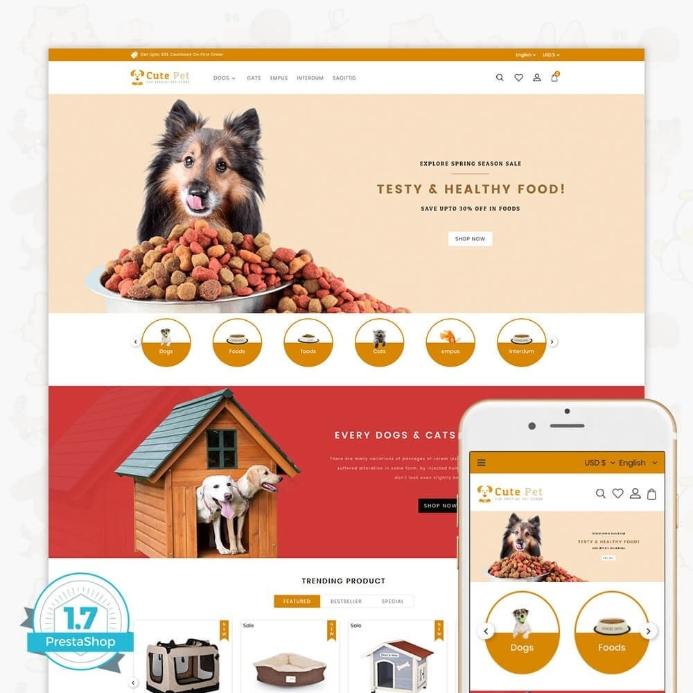 theme - Animaux - Cute Pet - The Specials Pet Store - 1