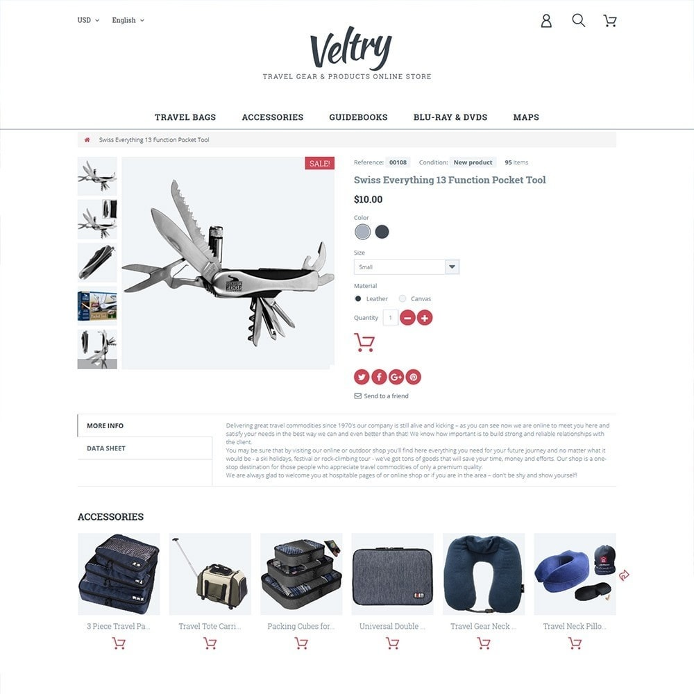 theme - Deportes, Actividades y Viajes - Veltry - 3