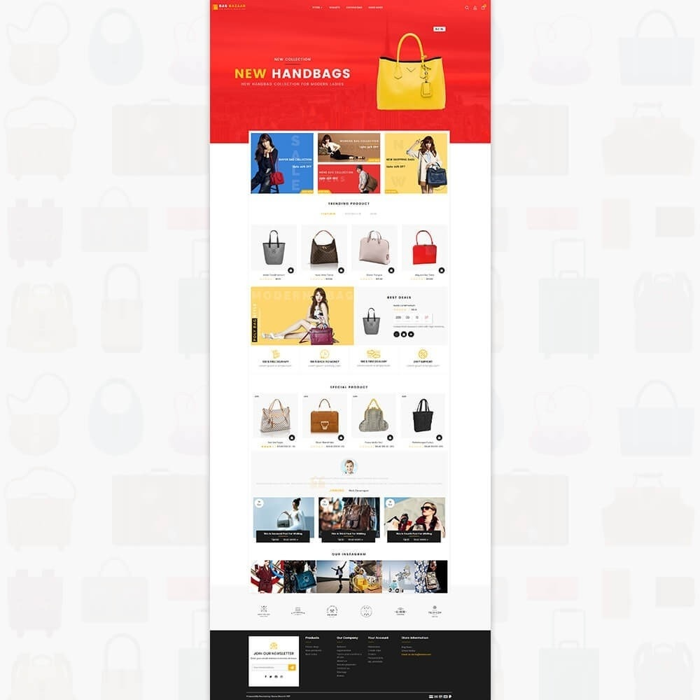 theme - Sport, Loisirs & Voyage - Bag Bazaar - The Special Bag Store - 2
