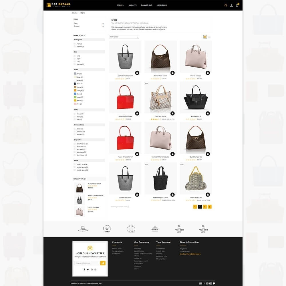theme - Deportes, Actividades y Viajes - Bag Bazaar - The Special Bag Store - 3