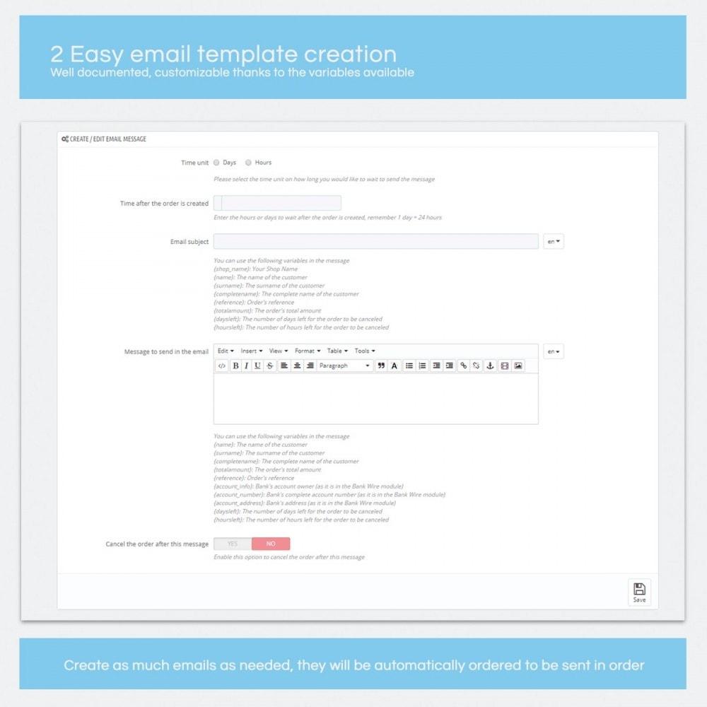module - Autres moyens de paiement - Wire Transfer Remainder - Smart Modules - 2