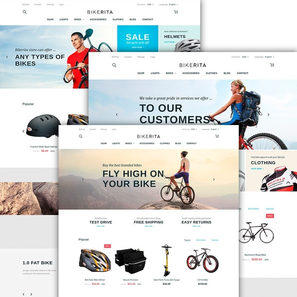 theme - Sport, Activiteiten & Reizen - Bikerita - 2