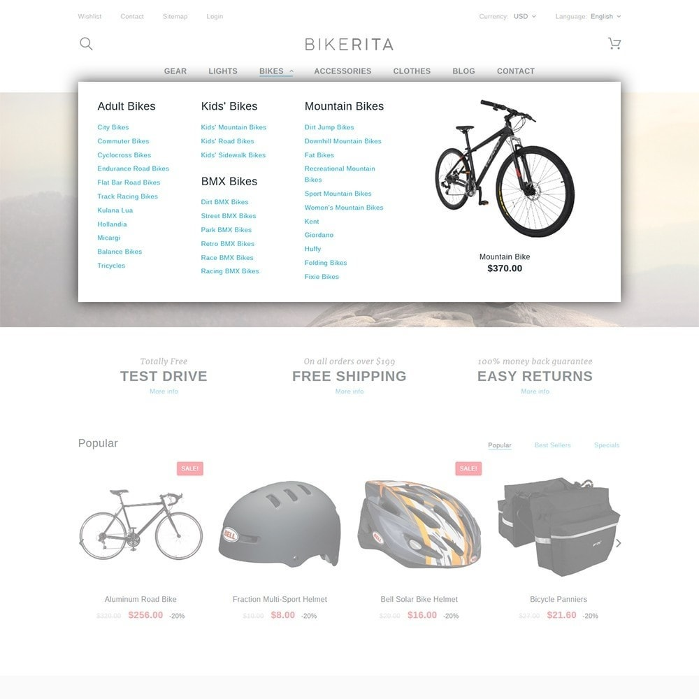 theme - Sports, Activities & Travel - Bikerita - 5