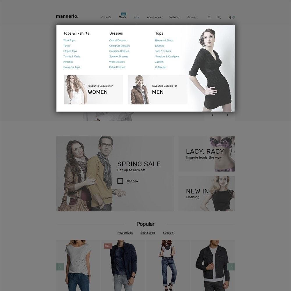 theme - Moda y Calzado - Mannerlo - Apparel Responsive - 5