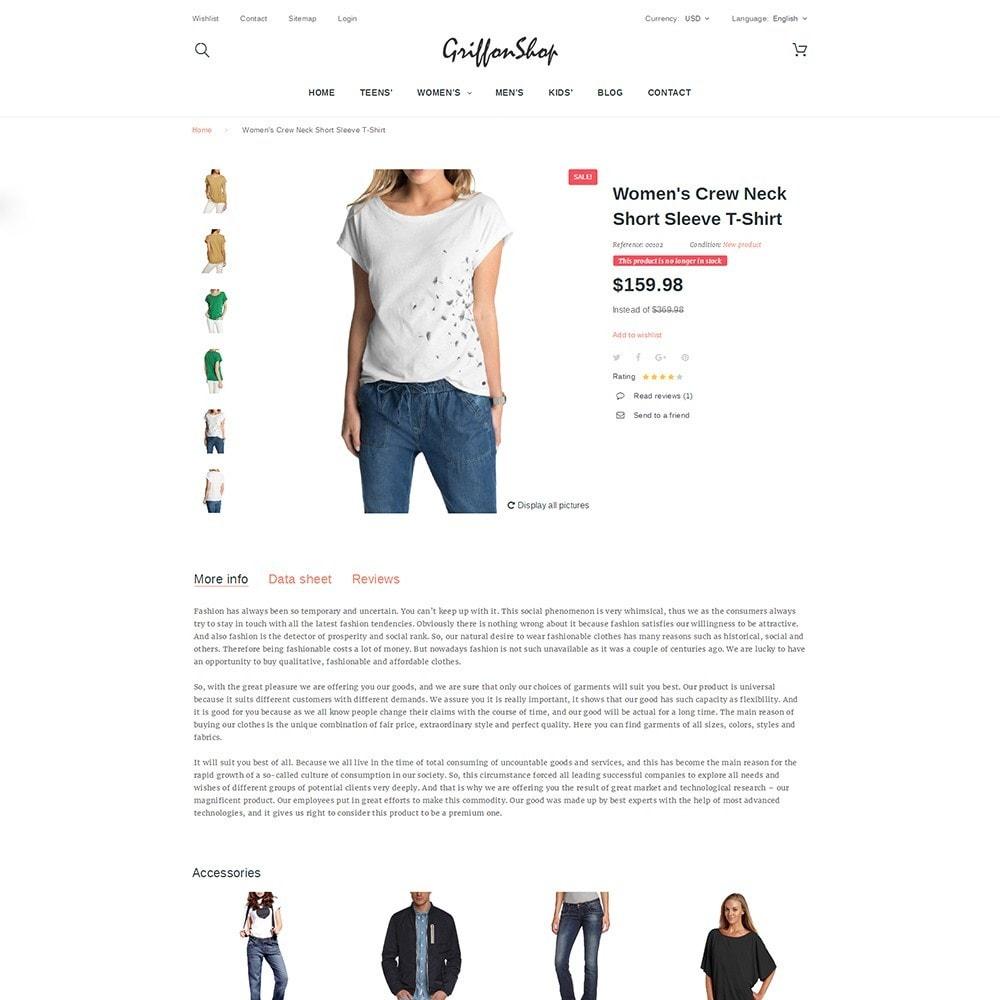 theme - Mode & Chaussures - Griffon Shop - Apparel - 3