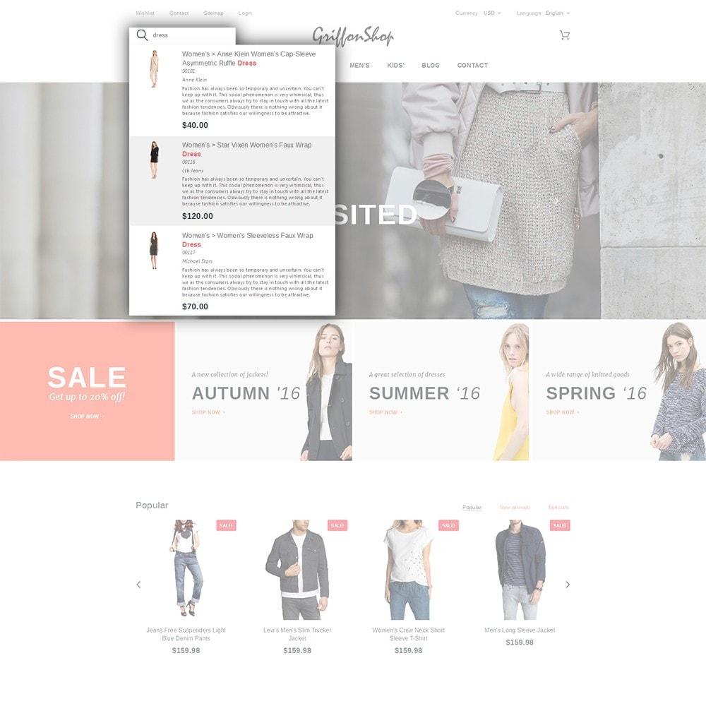 theme - Mode & Chaussures - Griffon Shop - Apparel - 6