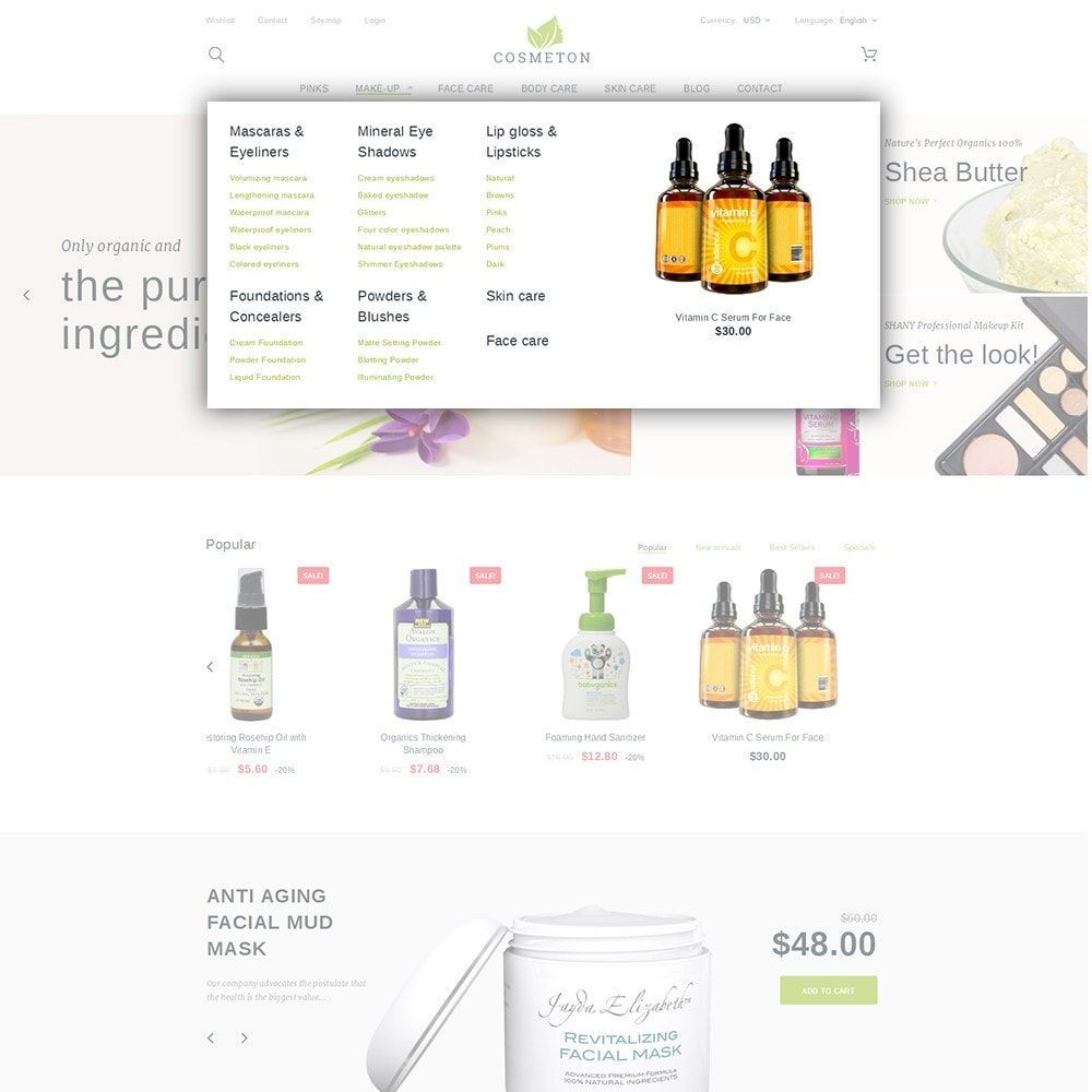 theme - Santé & Beauté - Cosmeton - Skin Care - 5