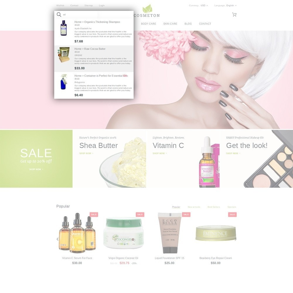 theme - Santé & Beauté - Cosmeton - Skin Care - 6