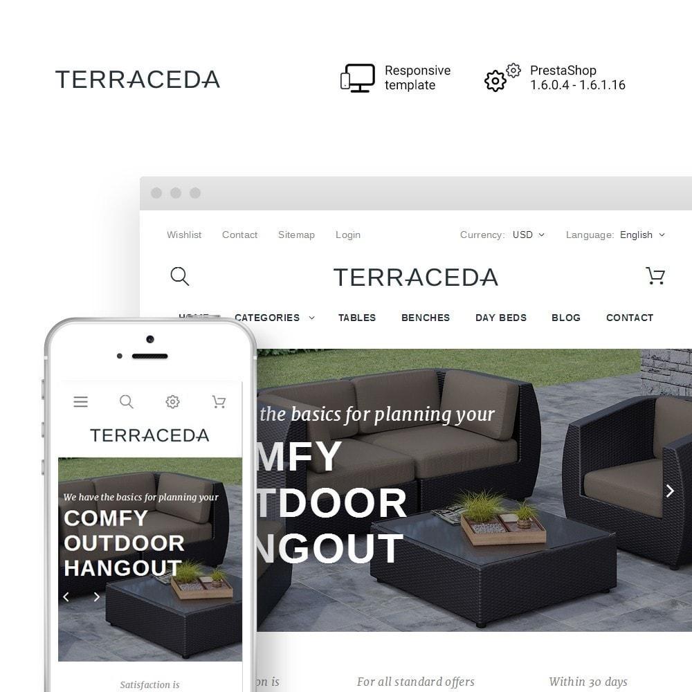 theme - Kunst & Cultuur - Terraceda - Outdoor Furniture - 1