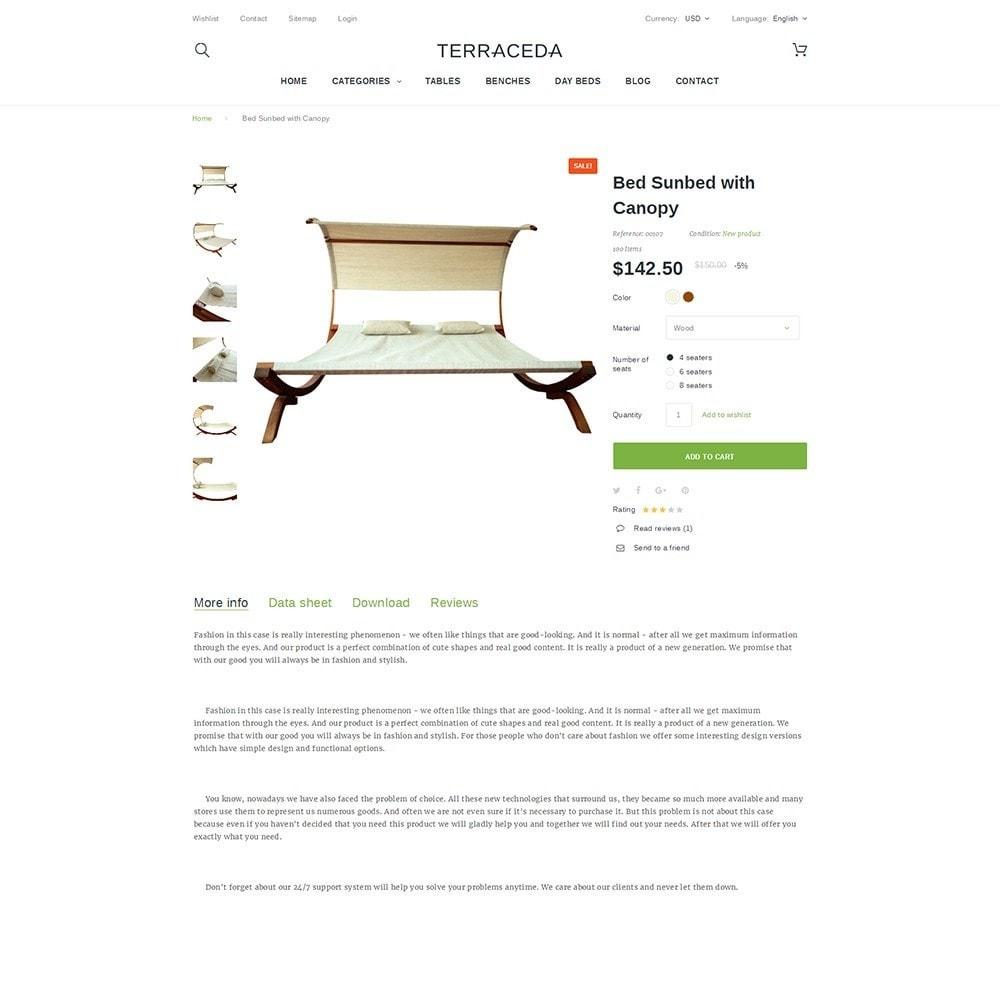 theme - Kunst & Cultuur - Terraceda - Outdoor Furniture - 3