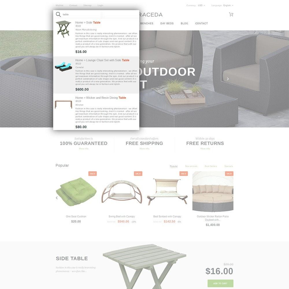 theme - Kultura & Sztuka - Terraceda - Outdoor Furniture - 6