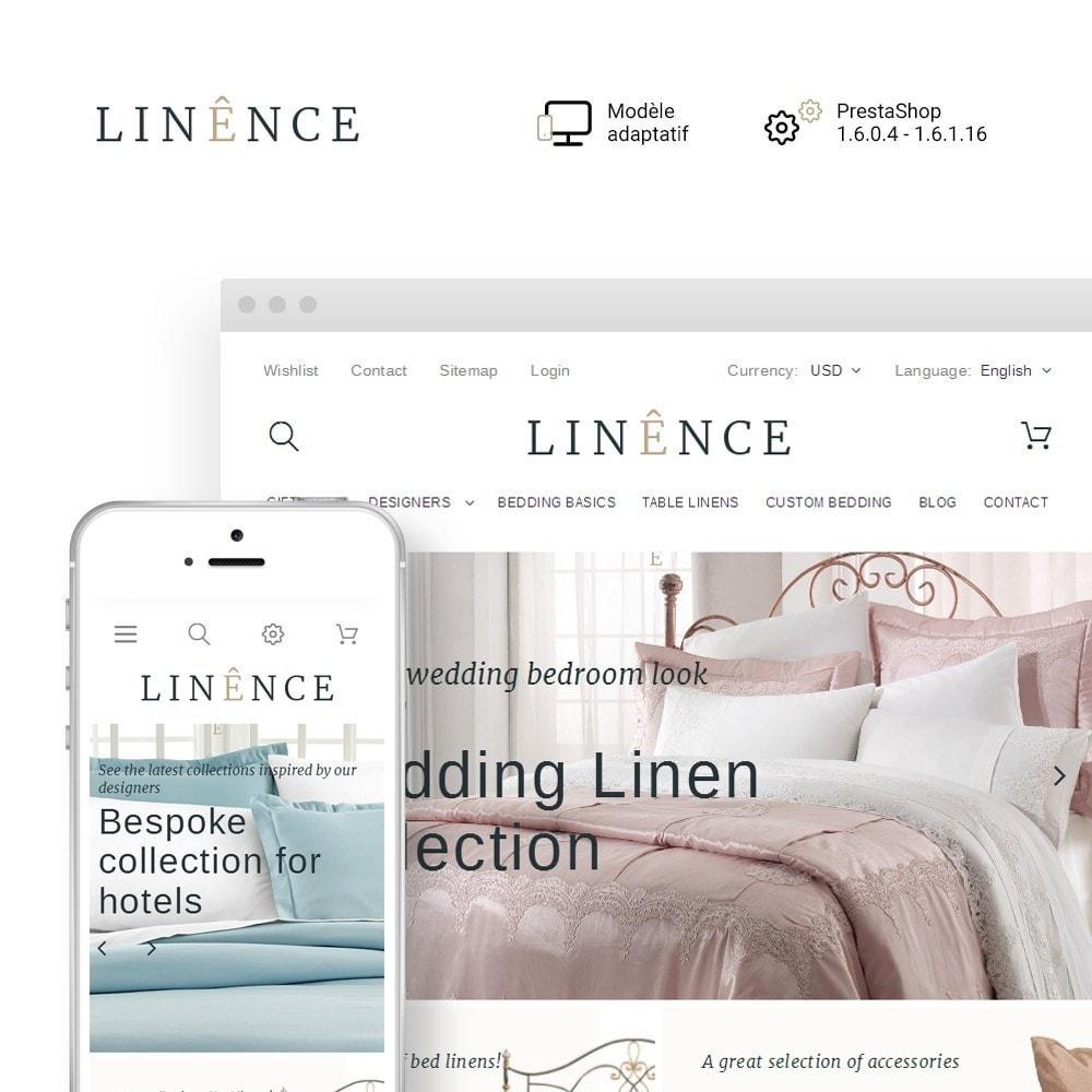 theme - Maison & Jardin - Linence - Bed Linen - 1