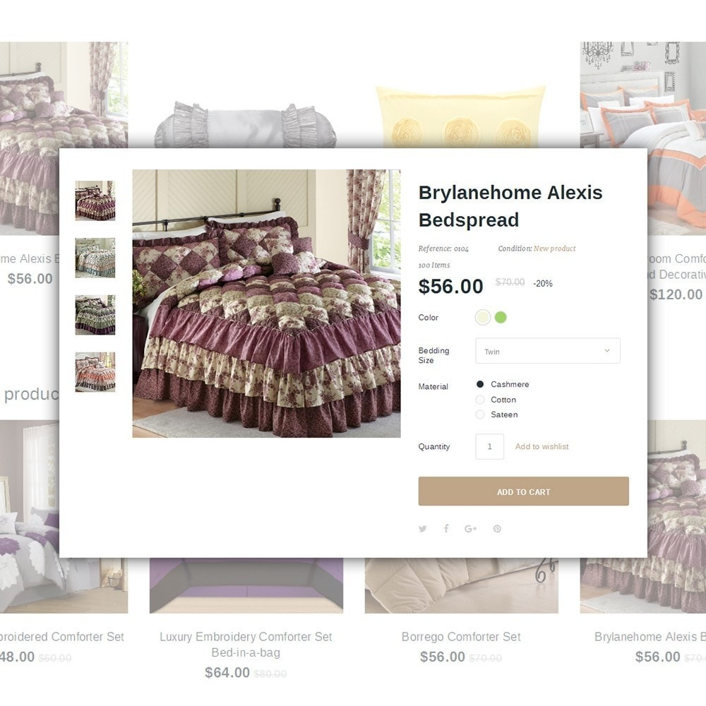 theme - Maison & Jardin - Linence - Bed Linen - 4