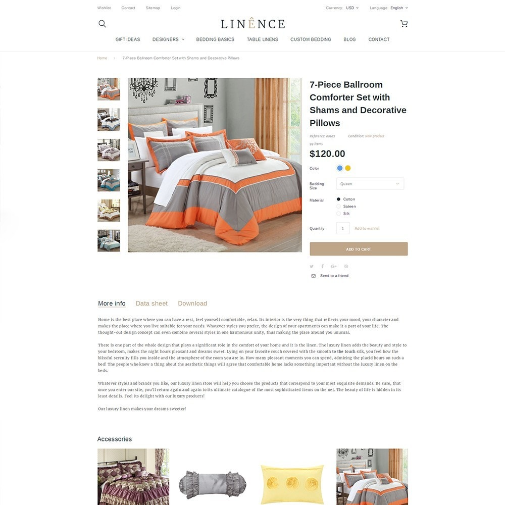 theme - Hogar y Jardín - Linence - Bed Linen - 3