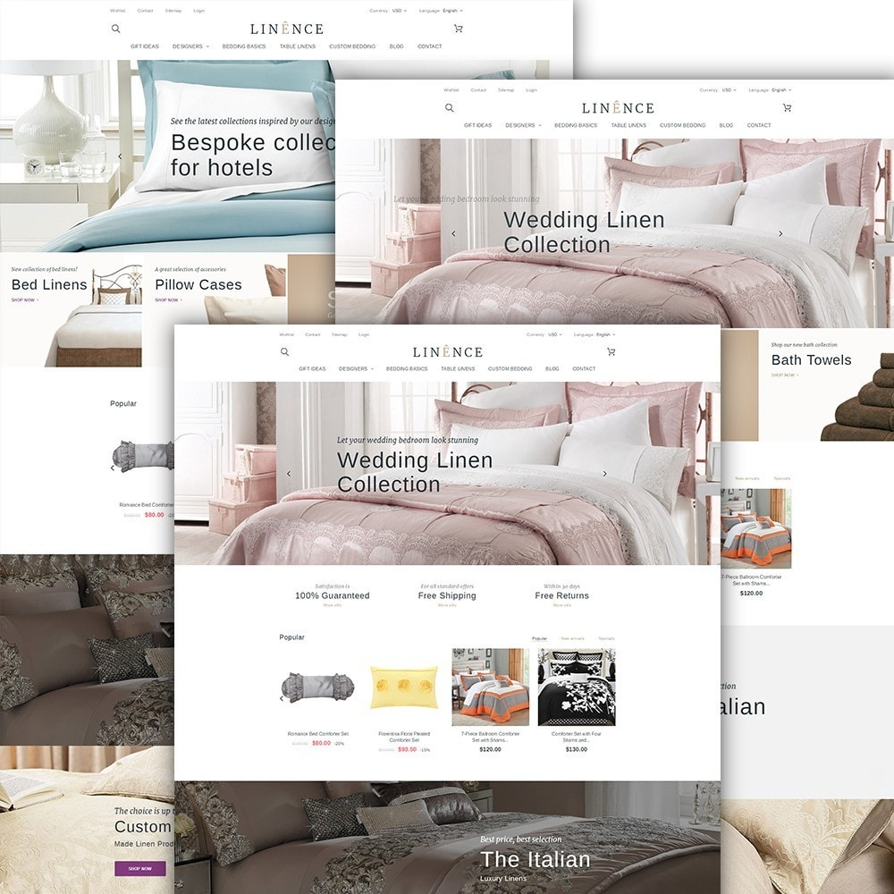 theme - Дом и сад - Linence - Bed Linen - 2