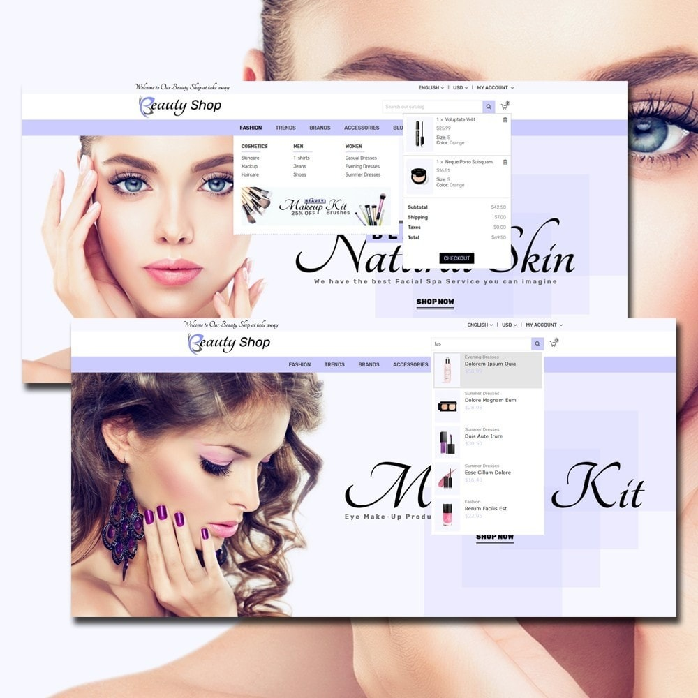 theme - Salud y Belleza - Beauty Cosmetic Store - 3