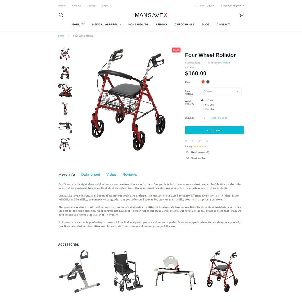 theme - Saúde & Beleza - Mansavex - Medical Equipment - 3