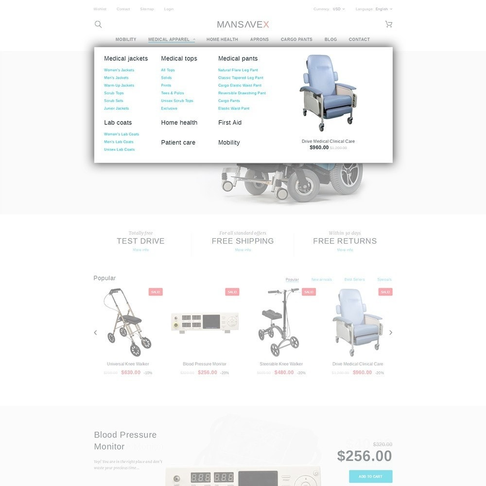 theme - Saúde & Beleza - Mansavex - Medical Equipment - 5