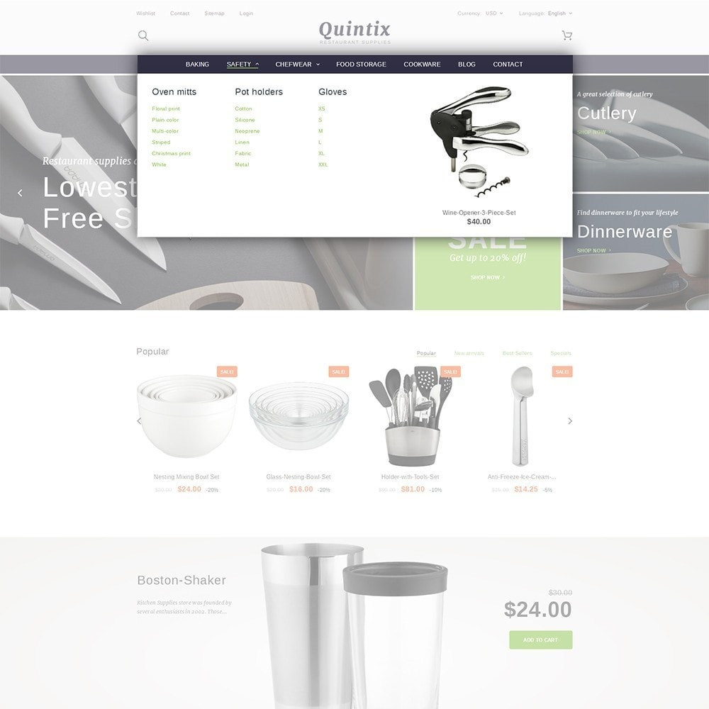 theme - Arte y Cultura - Quintix - Restaurant Supplies - 5