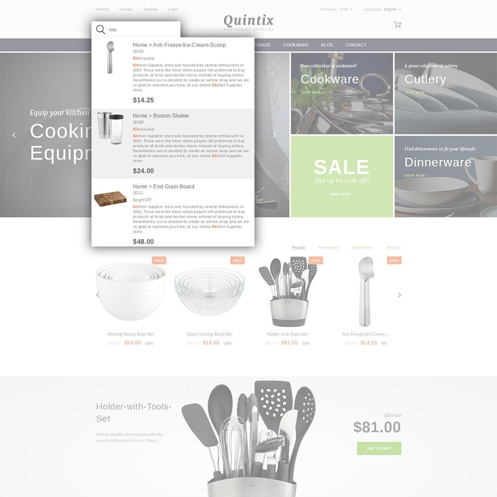 theme - Arte y Cultura - Quintix - Restaurant Supplies - 6