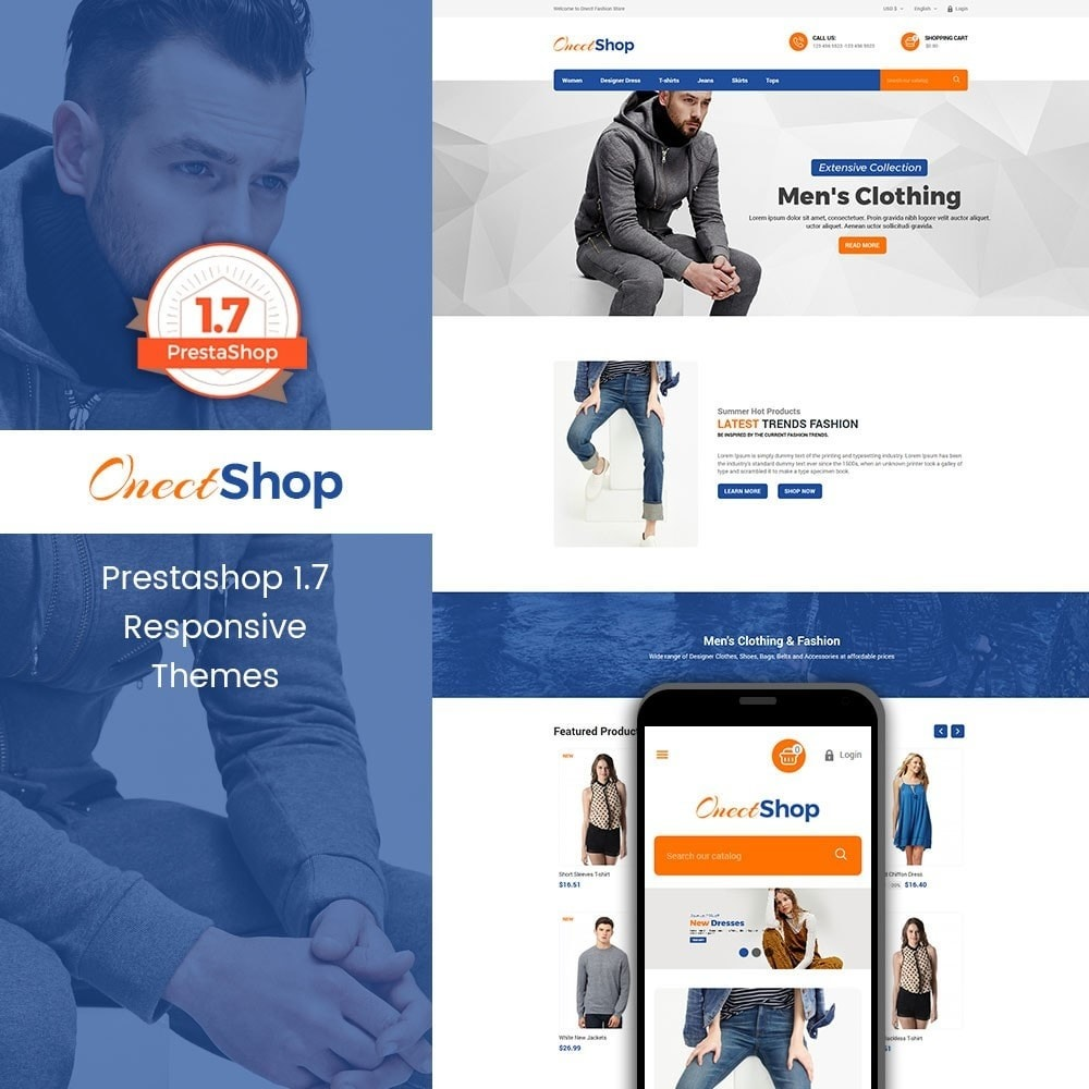 theme - Мода и обувь - Onect Shop Fashion Store - 1