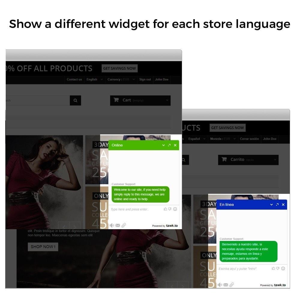 module - Поддержка и онлайн-чат - Tawk.to - The Best Free Livechat - Multilanguage - 4