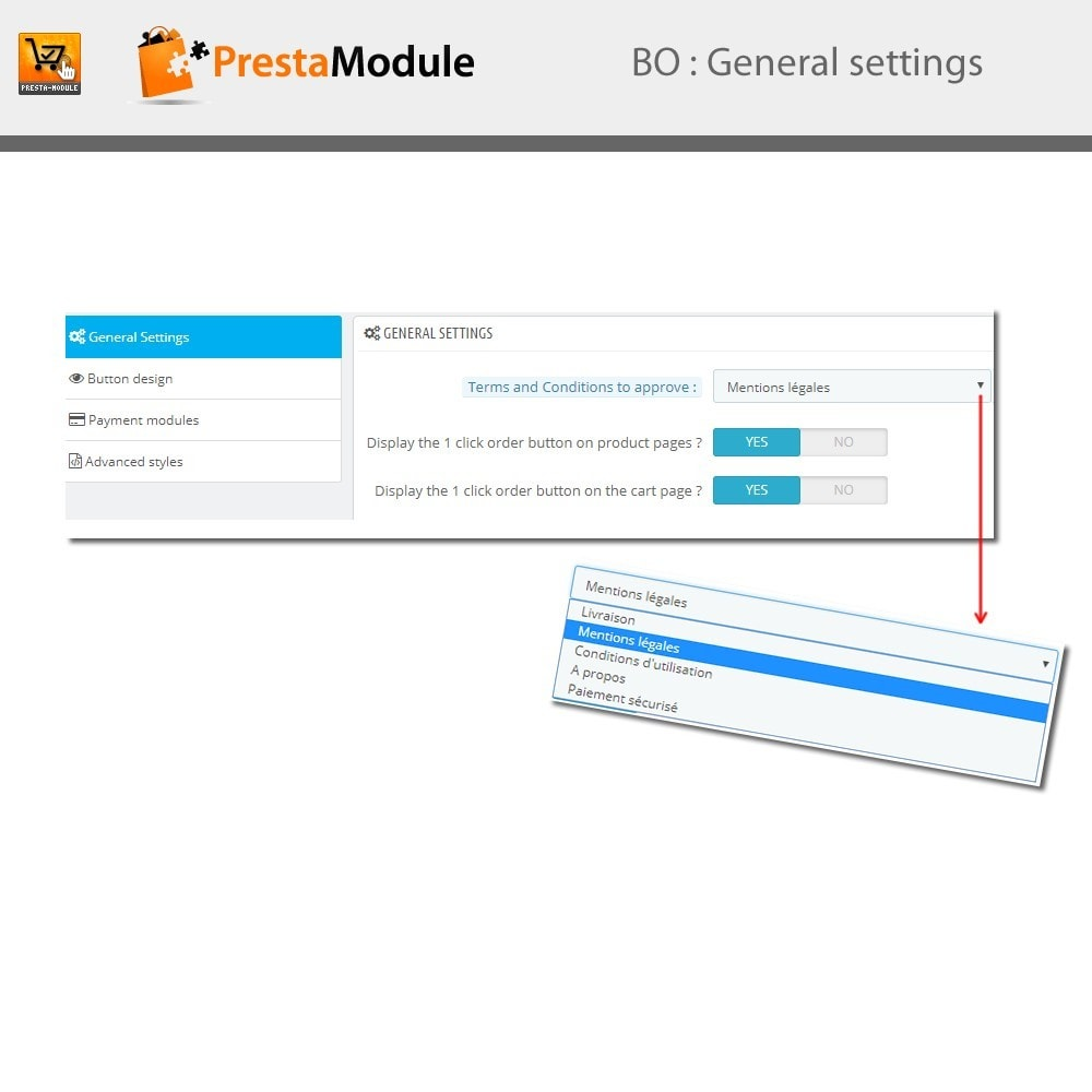 module - Express Checkout Process - One Click Order - 4