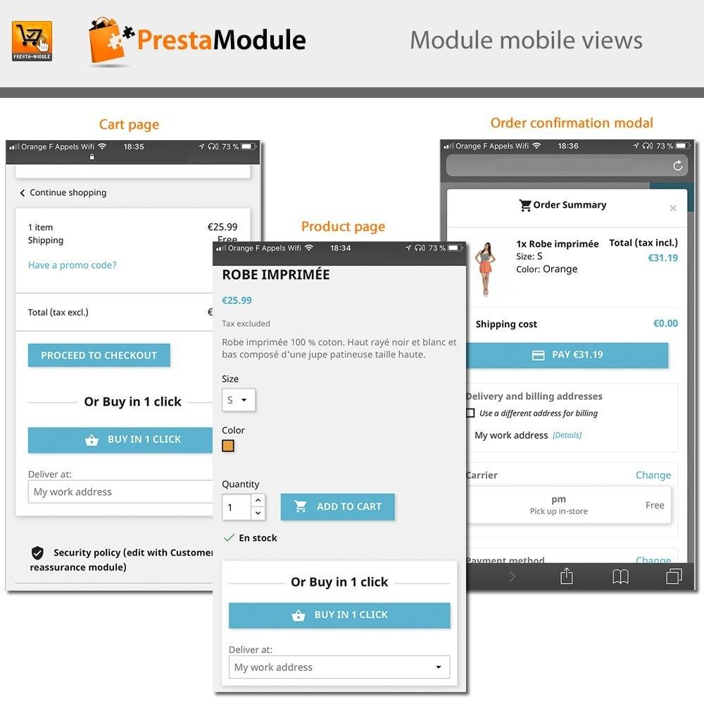 module - Płatność kartą lub Płatność Wallet - One Click Order - Buy in one click - 3