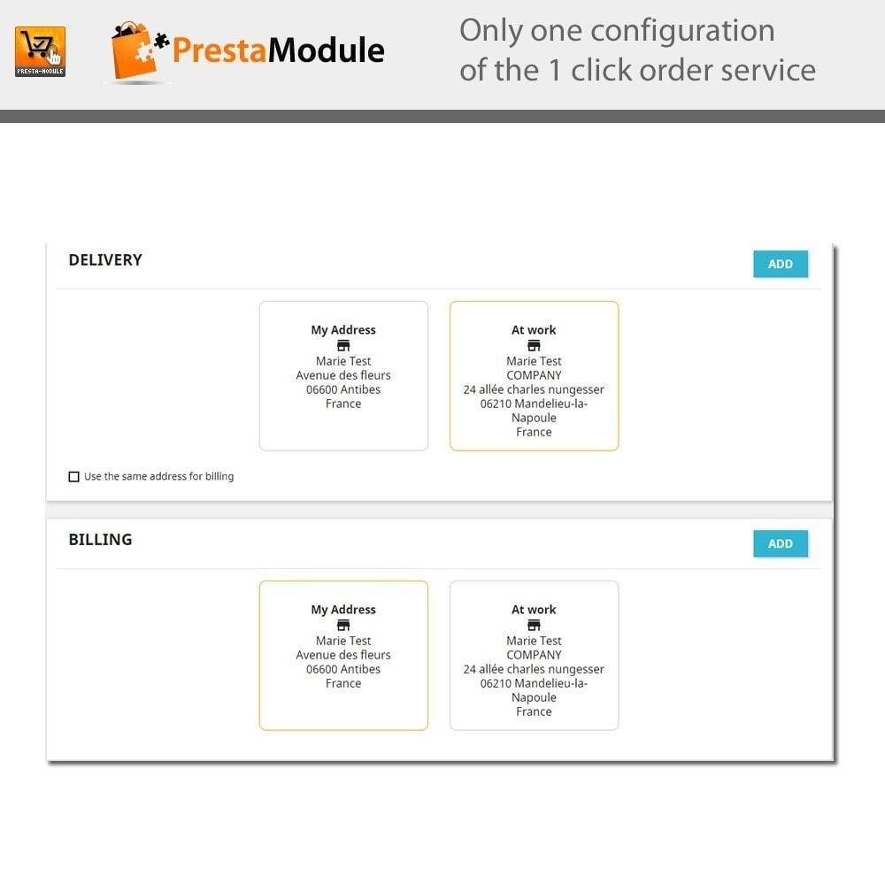 module - Płatność kartą lub Płatność Wallet - One Click Order - Buy in one click - 8