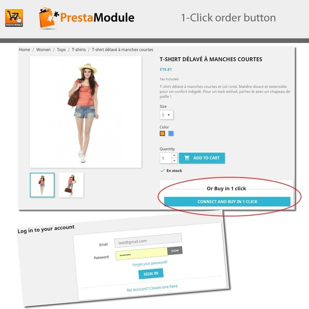 module - Płatność kartą lub Płatność Wallet - One Click Order - Buy in one click - 7