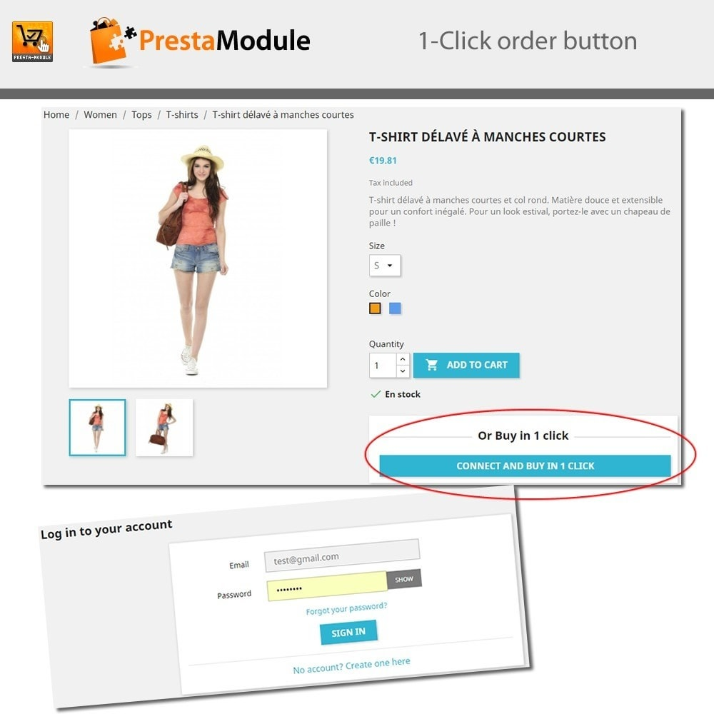 module - Express Checkout Prozesse - One Click Order - 7