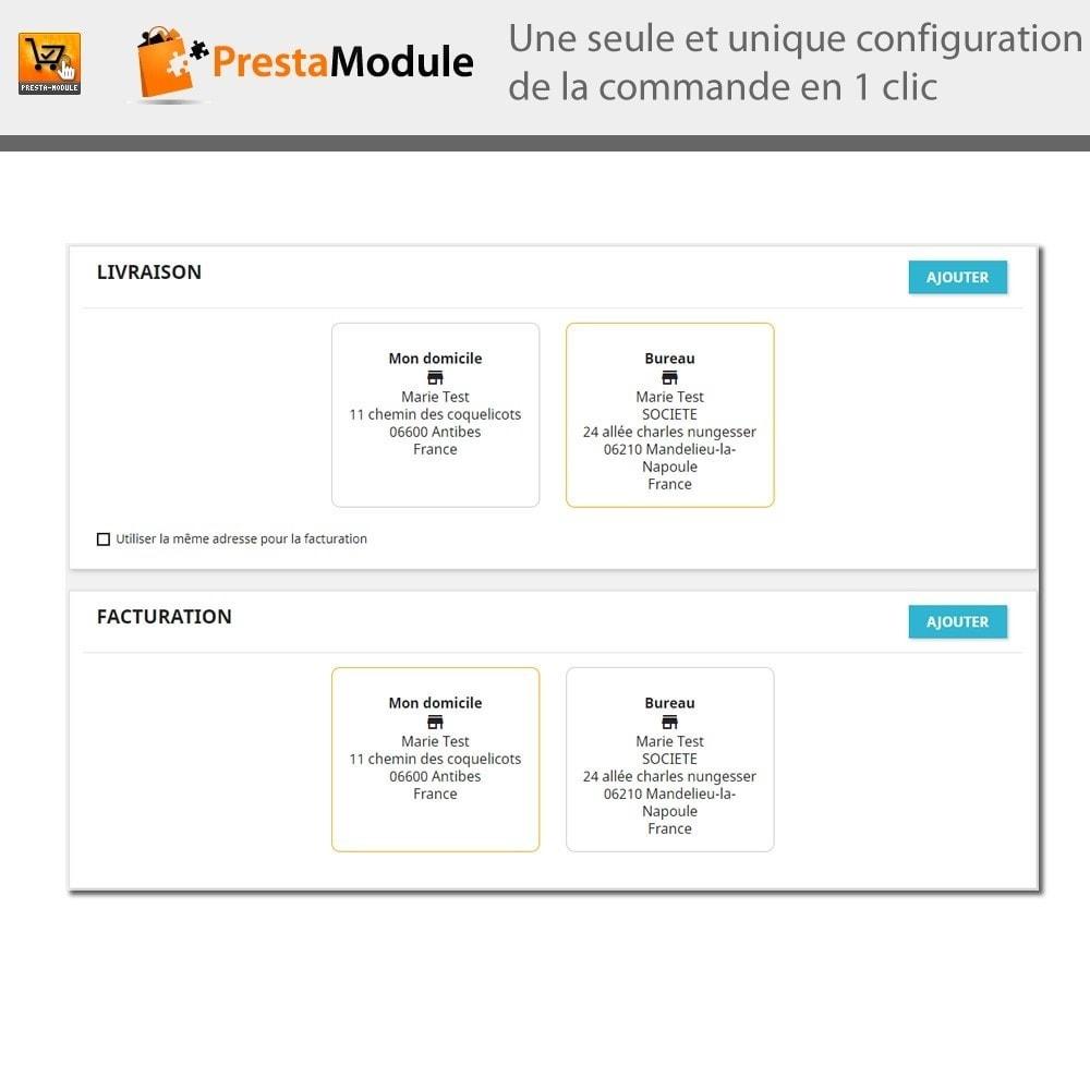 module - Processus rapide de commande - One Click Order - 8