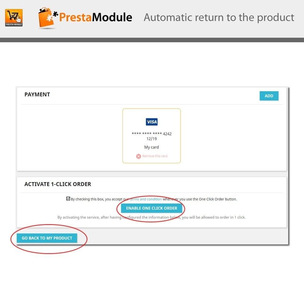 module - Płatność kartą lub Płatność Wallet - One Click Order - Buy in one click - 9