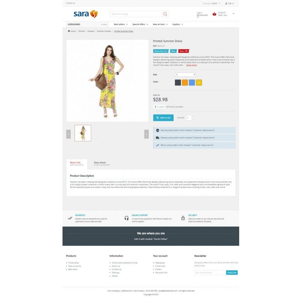 theme - Mode & Chaussures - Sara Fashion Store - 3