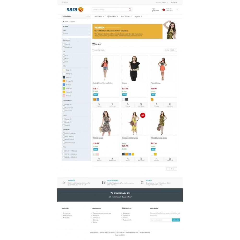 theme - Mode & Chaussures - Sara Fashion Store - 4