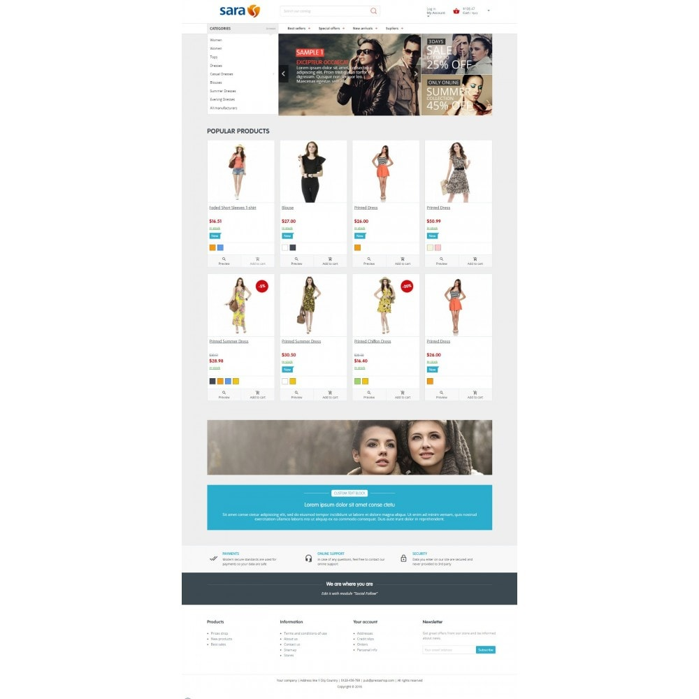 theme - Mode & Chaussures - Sara Fashion Store - 5