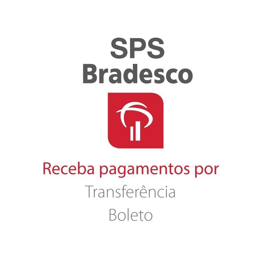 module - Creditcardbetaling of Walletbetaling - SPS Bradesco - 1