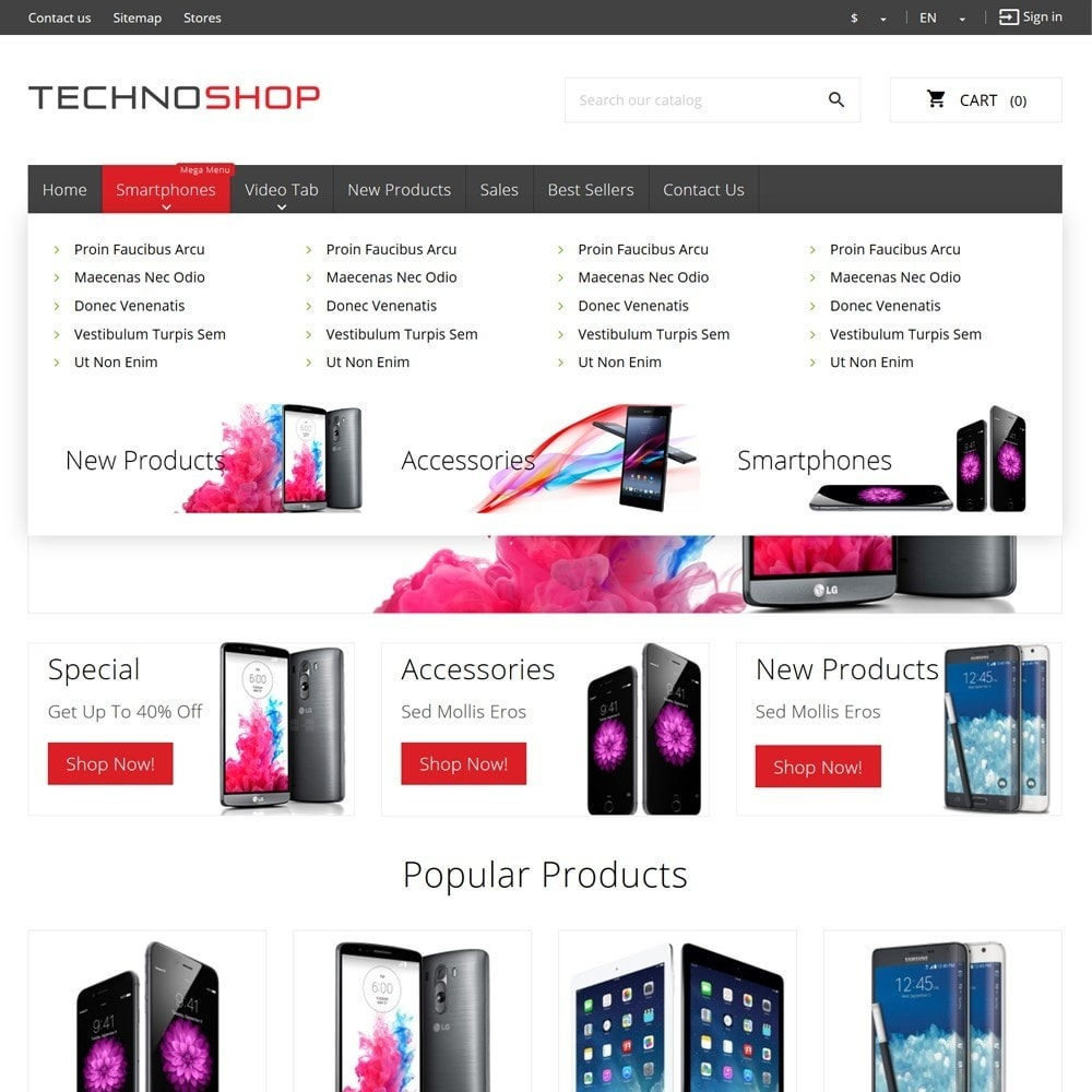 theme - Elektronica & High Tech - TechnoShop - 6
