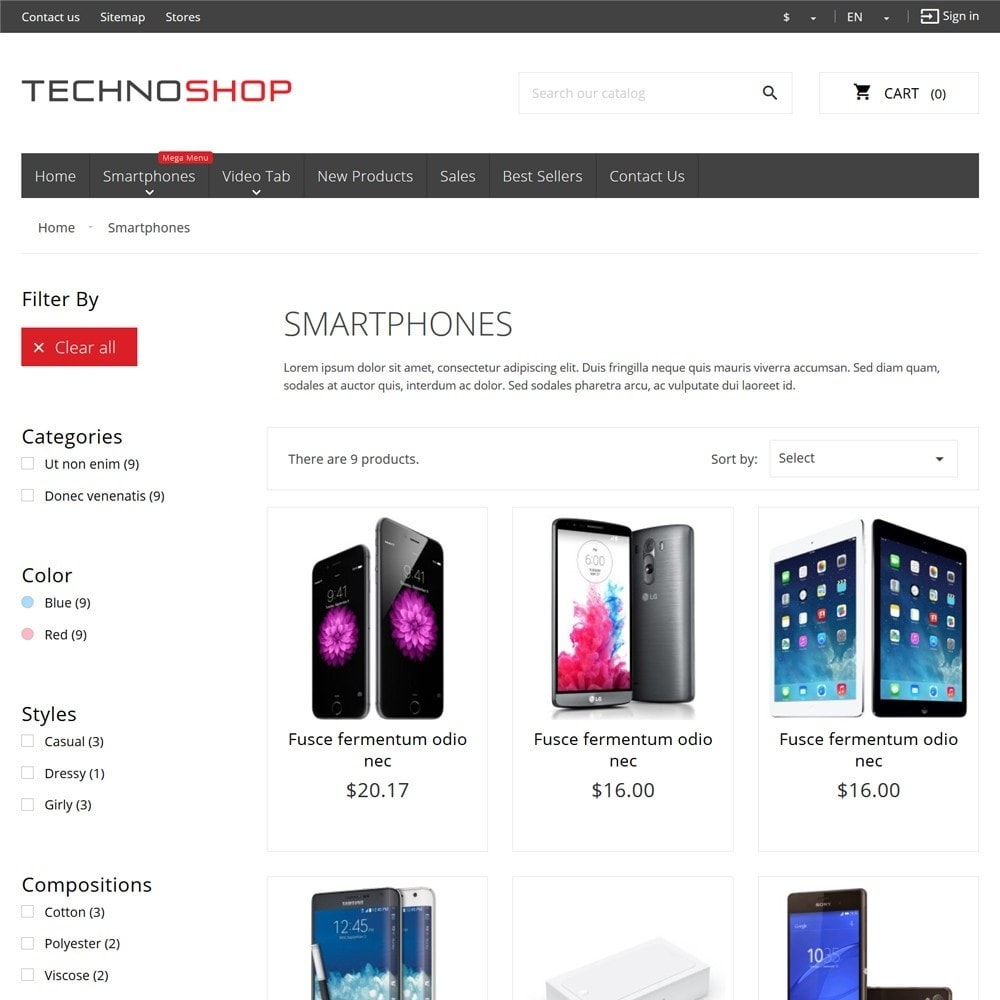 theme - Elektronica & High Tech - TechnoShop - 7