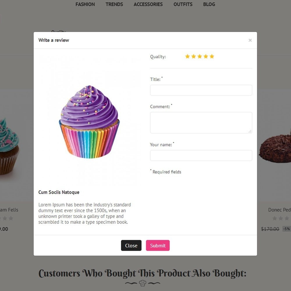 theme - Lebensmittel & Restaurants - Cake Store - 6
