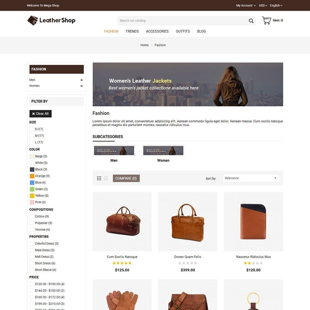 theme - Moda & Calzature - Leather Shop - 3
