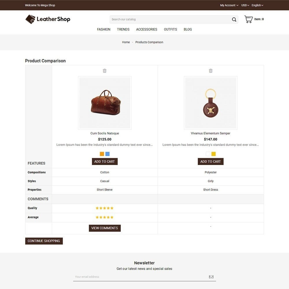 theme - Moda & Calzature - Leather Shop - 7