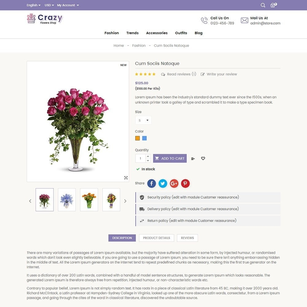 theme - Regali, Fiori & Feste - Crazy Flower Store - 5