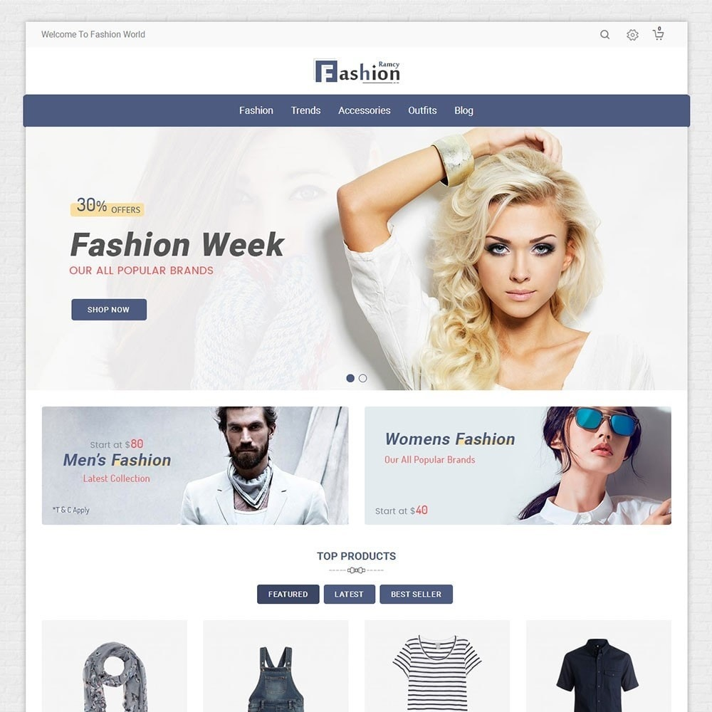 theme - Мода и обувь - Ramcy Fashion Store - 2