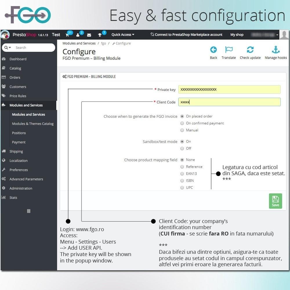 module - Accounting & Invoicing - FGO Premium – Billing Module – Facturare Magazin Online - 3