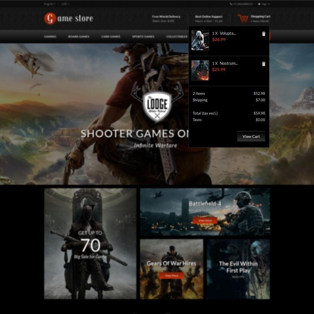 theme - Sports, Activities & Travel - GameStore - 8