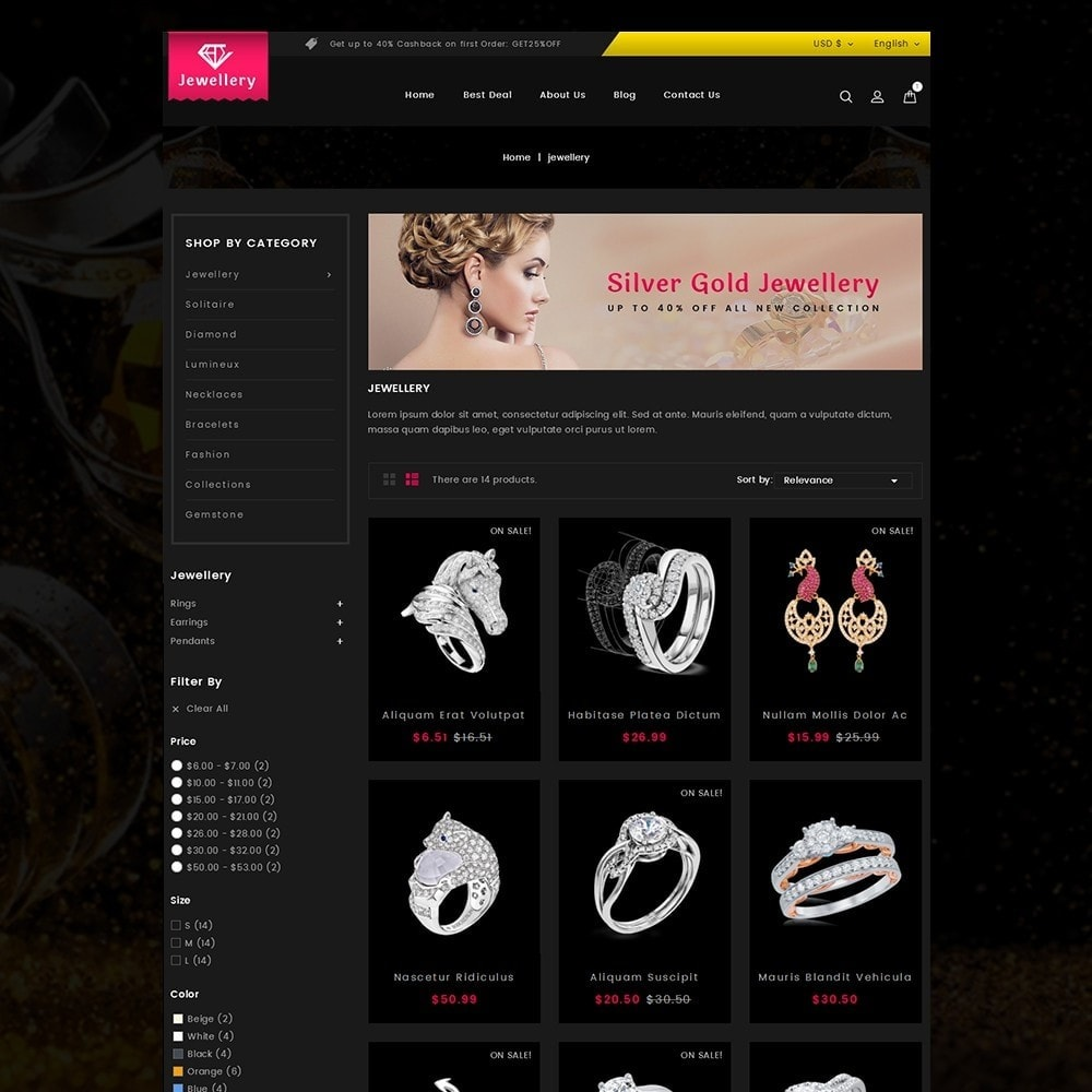 theme - Sieraden & Accessoires - Jewellery Store - 3