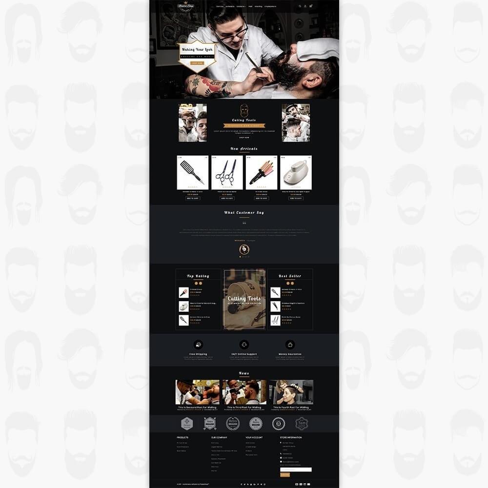 theme - Zdrowie & Uroda - Barber Shop - The Premium Shop - 2