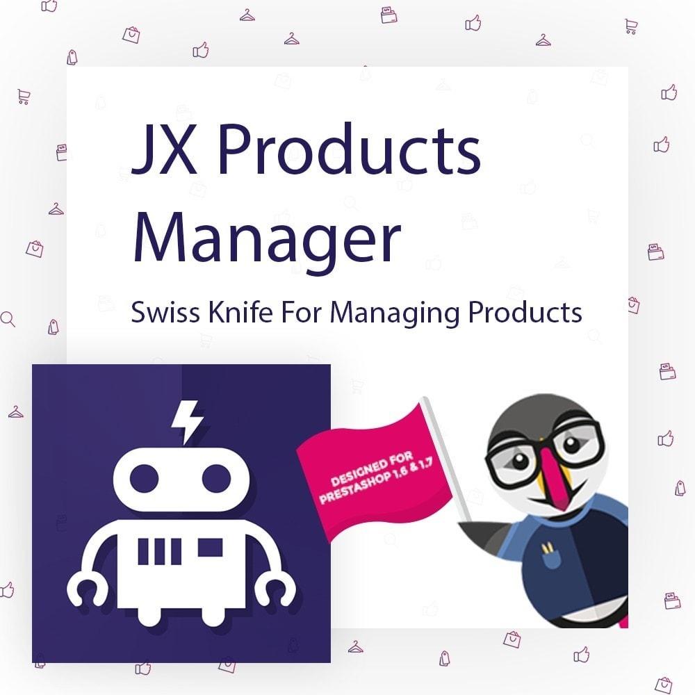 module - Edición Rápida y Masiva - JX Products Manager - 1
