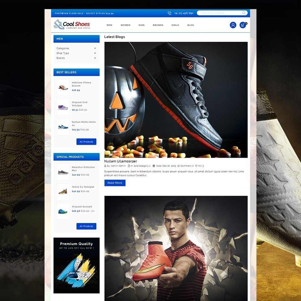 theme - Fashion & Shoes - Cool Shoes online Store - 9